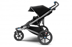 10101927 Коляска детская Thule Urban Glide 2 Double Jet Black - фото4