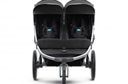 10101927 Коляска детская Thule Urban Glide 2 Double Jet Black - фото3