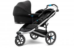 10101927 Коляска детская Thule Urban Glide 2 Double Jet Black - фото2